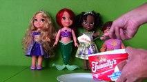 Disney Princess Aurora's Ice Cream Party! _ Toy Review _ Konas2002-o