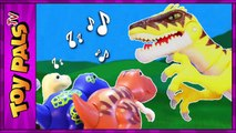 DigiDinos TOY DINOSAURS Singing to Velociraptor Dinosaur Interactive Toys Kids Video Review-gouGN
