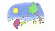 KARAOKE Summer Song - It's Summertime - ELF Learning-j