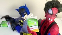 Spiderman vs Frozen Elsa - Nerdy Spiderman Meets Nerdy Elsa! w_ Joker & Batman - Funny Superheroes-iSW