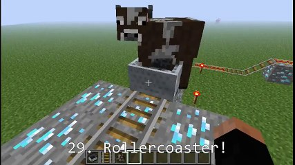 52 ways to kill a cow in Minecraft!