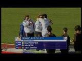 Athletics -  women's shot put F12 Medal Ceremony  - 2013 IPC Athletics World Championships, Lyon