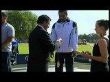 Athletics -  men's shot put F56/57 Medal Ceremony  - 2013 IPC Athletics World Championships, Lyon