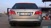 Mercedes E63 AMG S V8 Bi-Turbo Exhaust Sound