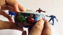 GIANT AVENGERS Surprise Eggs Compilation Play Doh - Marvel Spiderman Hulk Ironman Thor Toys-w6T00dmF