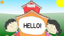 School Subjects Vocabulary - Pattern Practice for ESL and EFL Students - ELF Kids Videos-J0