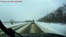 Russe Car crash crash compilation décembre ✦ Russie C