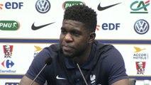 Foot - Amical - Bleus : Umtiti «Plus qu'un match amical»