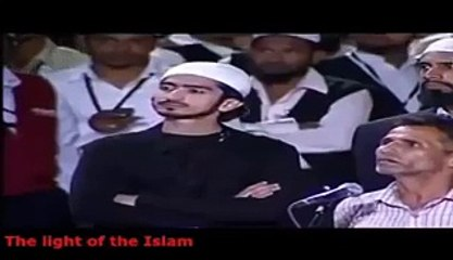 Hindu Pandit With Dr Zakir Naik One Of The Best