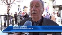 Hautes-Alpes : inauguration du monument aux morts à Puy-Saint-Vincent pour la cérémonie du cessez le feu de la Guerre d'