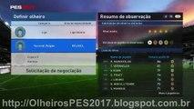 PES 2017 - MyClub - Combinacao de olheiros para contratar R. Nainggolan - AS Roma