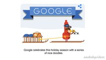 ᴴᴰ Happy Holidays new (Day 3: Christmas & 4: Boxing Day) - Animated Google Doodle Tis th