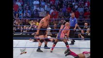 WWE - Kurt Angle vs Big Show, Charlie Haas & Shelton Benjamin (Handicap Match 3 on 1) At SmackDown 204