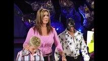 Eddie Guerrero, Mrs. Crabtree, Rey Mysterio, Angie Mysterio, Dominic Segment SmackDown 08.11.2005