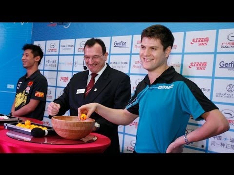 #ITTFWorldTour #GrandFinal Draw
