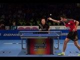 Men´s World Cup 2013 Highlights: Jean-Michel Saive vs Yang Zi