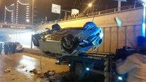 Ankara'da Feci Kaza! Beton Mikseriyle Otomobil Çarpıştı: 5 Ölü, 1 Yaralı