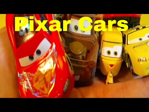 Pixar Cars Unboxing Lightning Mcqueen Cars And Other Cars
