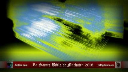 La Sainte Bible de Machaira 2016 - Apocalypse 3 - LeVigilant.com