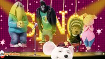 Sing Movie Five Little Monkeys Jumping on the Bed - Nursery Rhymes For Kids
