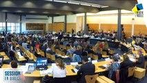 Session en présence de l'Assemblée Départementale des Collégiens