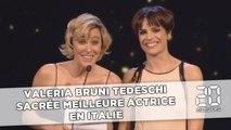 Le discours de Valeria Bruni Tedeschi bouleverse l'assistance des César italiens