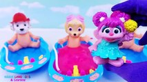 Симпатичные Paw Патрульные Кукла Ванна Время Игрушка Лизун Сюрпризы Учим Цвета Маршалл Чейз Скай