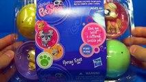 6 Littlest Pet Shop surprise eggs! LPS surprise eggs! Each egg holds a different lovable p