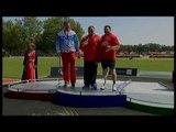 Athletics -  men's shot put F44 Medal Ceremony  - 2013 IPC Athletics World Championships, Lyon