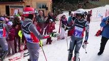 Ski alpin : slaloms survoltés à Lélex