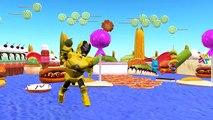 Finger Family Ironman Vs Black Ironman | Ironman Vs Yellow Ironman Cartoons Children Nursery Rhymes