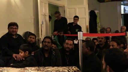 Syed Raza Abbas Zaidi Reciting Manqabat | Ali a.s Ali a.s Ali a.s |