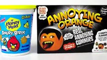 Annoying Orange Angry Birds Angry birds cookies and annoying orange real annoying gummis.