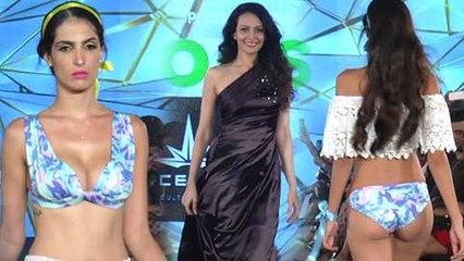 H0T Models Bikini Rampwalk | Dipannita Sharma Set The Ramp On Fire