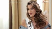 Iris Mittenaere (Miss Univers) en larmes face à Nikos Aliagas - ZAPPING PEOPLE DU 27/03/2017