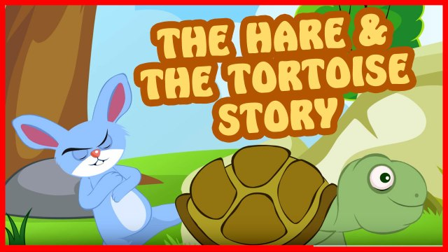 Hare and Tortoise Story in English - Bedtime Story for Kids