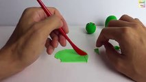 Learn how to make Kermit the Frog from Sesame Street with Play Doh