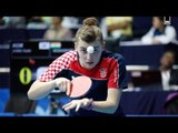 Crazy Table Tennis Rally at Zagreb Open