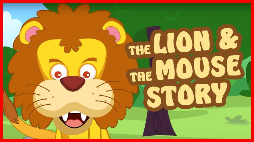 Lion and Mouse Story in English ¦ Bedtime Story for Kids