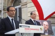 Cérémonie d'hommage à Henri Emmanuelli
