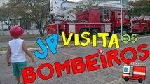 JP visita o Corpo de Bombeiros - omagrelinho visita