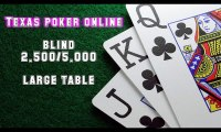 Video cara bermain texas poker online - large table blind 2.500-5.000