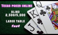 Video cara bermain texas poker online - large table fast blind 2.500-5.000