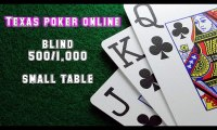 Video cara bermain texas poker online - small table blind 500-1.000