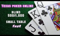 Video cara bermain texas poker online - small table fast blind 500-1.000