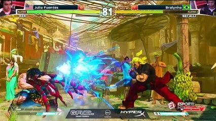 Em duelo incrível, brasileiro consegue classificação para a próxima fase na ELEAGUE Street Fighter V!