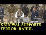 Rahul Gandhi calls Arvind Kejriwal 'Aatankiyon Ka Saathi' in Punjab; Watch Video | Oneindia News