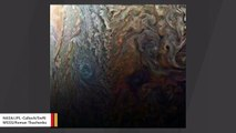 NASA Spacecraft Images 'Mysterious Dark Spot' On Jupiter