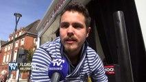 Mélenchon Tour: le camion-podium Mélenchon part dans les villages
