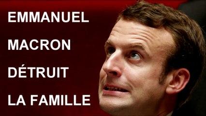 Emmanuel Macron pervertit et détruit la famille Viméo